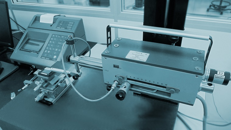 calibración de rugosimetros