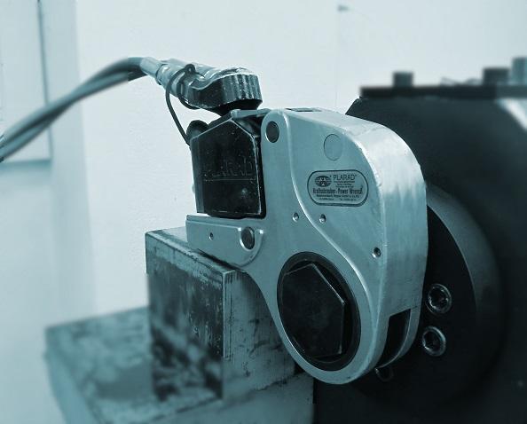 calibrar atornillador hidraúlico