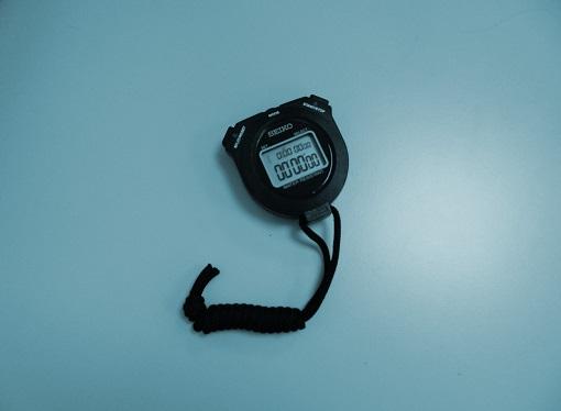 Calibración cronómetro