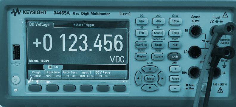 Calibración de multímetros