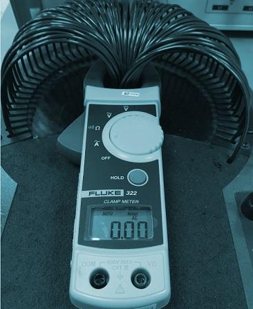 calibración pinzas amperimétricas