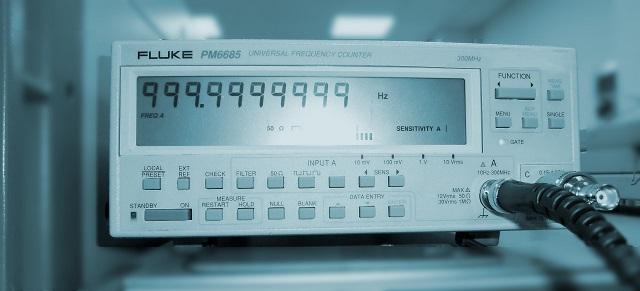 calibración de frecuencímetros