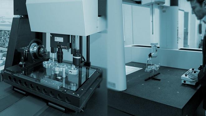 Calibración de máquinas y de medir por coordenadas, brazos, proyectores