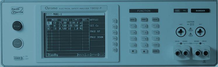 Calibración de medidor de seguridad eléctrica
