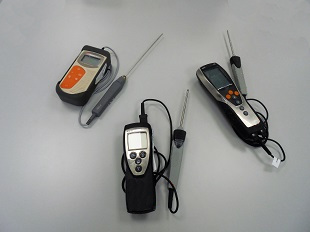 Thermometers calibration
