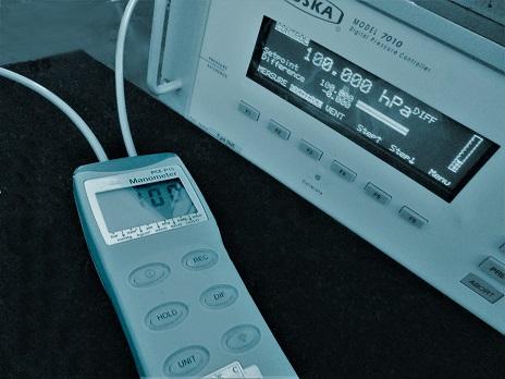 calibración manómetros presión diferencial