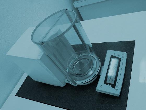 calibración báscula