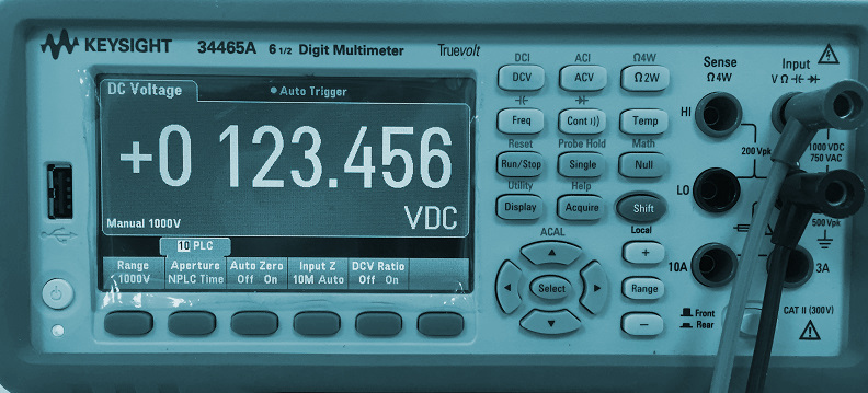 Calibration of multimeters