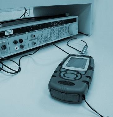 Sound level meters calibration
