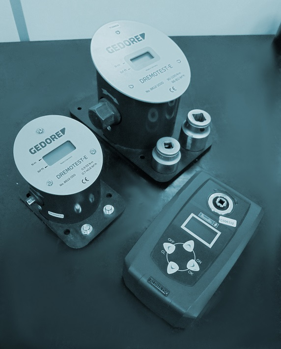 Torque meters calibration